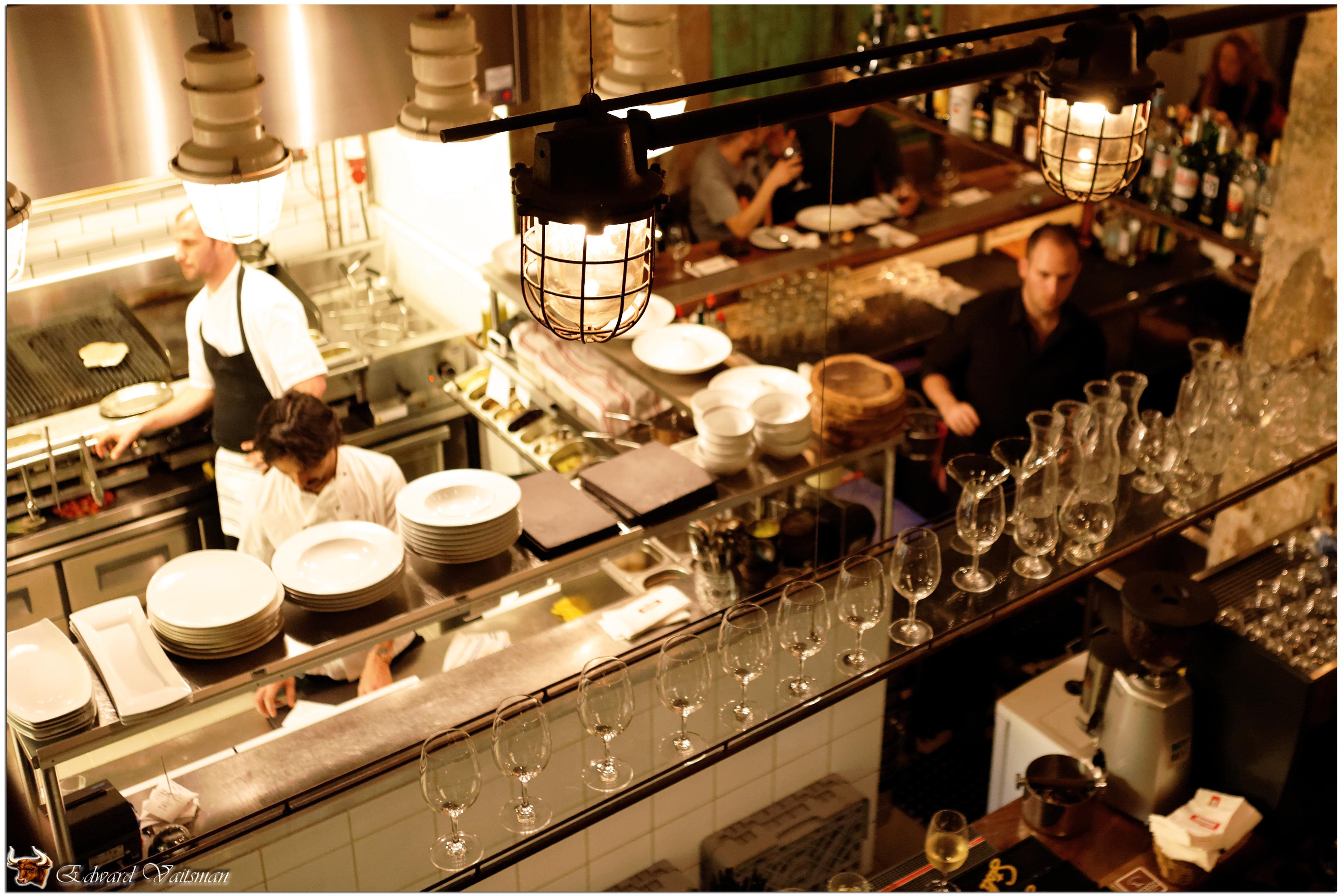 фото кухня ресторана